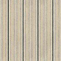 Vintage Stripe 4 Black Fabric by Ian Mankin Curtain Box, Curtain Fabric, Box Cushion, Cushion Fabric, Buy Fabric, Cotton Fabric, Caravan Curtains, Made To Measure Curtains, Roman Blinds