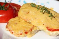 Свинина, запеченная с помидорами и сыром. | Школа шеф-повара