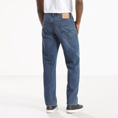 Levi's 550 Relaxed Fit Stretch Jeans (Big & Tall) - Men's 56x32