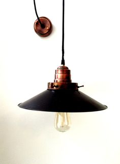HARDWARE Pendant lamp light in industrial by LightCookie on Etsy