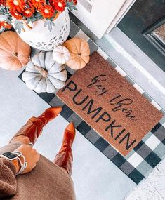 Add CHARACTER to your front door with this personalized door mat for Fall! ------------------------------------------------------ Housewarming Gift First Home Buyer Gifts Wedding Gifts ------------------------------------------------------ Each mat is 18 x 30 in size. Each mat is made of Durable
