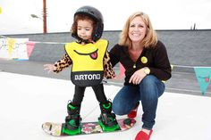 Your kids don't have to start on skis! How to get kiddos started on snowboarding.