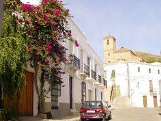Postcards from Spain: Gérgal (Almería province) http://bovington-posts.blogspot.com.es/2011/11/gergal-almeria-province.html