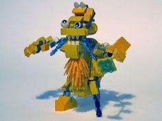 Mixels Electroids Max MOC - Shockarrr 1 by TheOneVeyronian, via Flickr #LEGOMixels