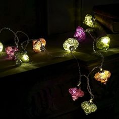 Arabian nights light string for patio