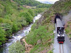Ffestiniog & Welsh Highland Railways - Opening through Aberglaslyn Pass Steam Engine, Our World, Welsh, Countryside, Trains, Transportation, Engineering, Bucket, Ships