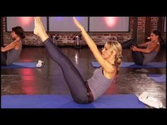 ▶ Burlesque Abs Floor Series: Rockin Models Workout - YouTube
