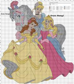 Cenerentola, Aurora e Belle (click to view)