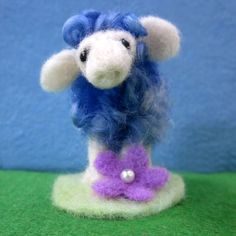 teeny tiny needlefelt sheep