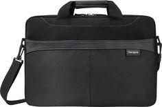 Targus - Business Casual Slipcase Laptop Briefcase - Black, TSS898