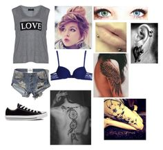 Punk by foreversandalways on Polyvore featuring polyvore, fashion, style, Carmakoma, Abercrombie & Fitch, Cosabella and Converse