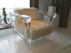 Lucite Furniture - 'Glacial Sofa' Would Be At Home in a House of Ice
