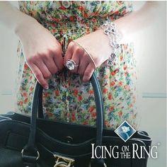 As seen on Tacori.com! #sheistacori #tacorigirl #icingonthering