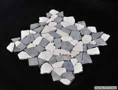Mosaic Connecting 300x300 MIXED GREY-WHITE