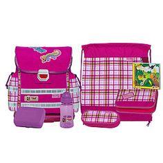 McNeill Ergo Light 912 Fashion-Line Caro Gekko pink Schulranzenset