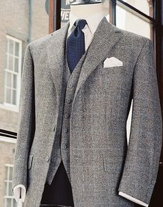 Anderson Sheppard tweed jacket