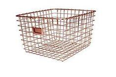 6-spectrum-diversified-47979-storage-basket-medium-copper