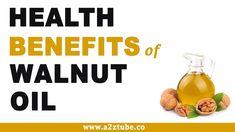 Health Benefits of Walnut Oil Health Benefits Of Walnuts, Fruit Benefits, Walnut Oil, Stay Fit, Home Remedies, Health Tips, Healthy Eating, Herbs, Vegetables