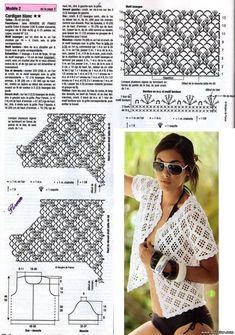 летняя кофта спицами для женщин схемы и описание бесплатно: 10 тыс изображений найдено в Яндекс.Картинках