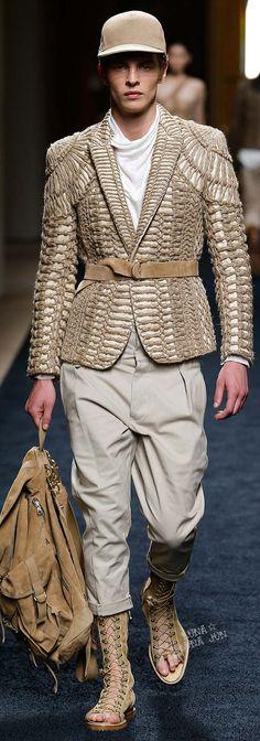 www.2locos.com Balmain Spring 2016 Menswear