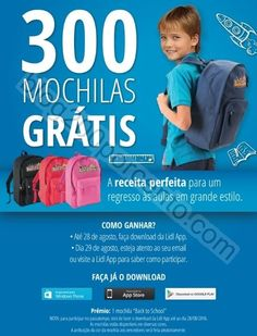 Passatempo LIDL Regresso às aulas - ganha uma das 300 mochilas - http://parapoupar.com/passatempo-lidl-regresso-as-aulas-ganha-uma-das-300-mochilas/