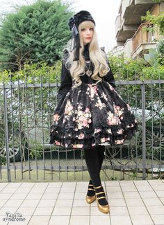 """vanillasyndrome: """" Lolita coord for New Years evening! """""""