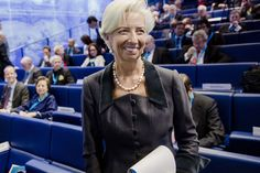 Lagarde Wins European Nominations for Second Term as IMF Chief.