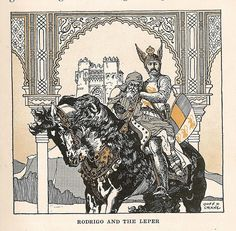 Cid Campeador, Hero of Spain illustration by Donn P. Crane | Flickr
