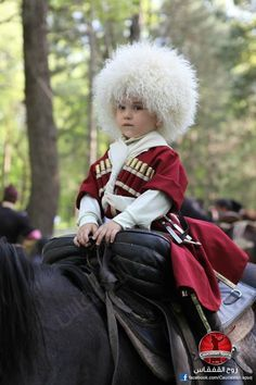 cute circassian boy on horse Artists For Kids, Black Sea, Folk Costume, People Of The World, Beautiful Children, Winter Hats, Culture, Boys, Clothes