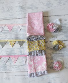 Newborn Baby Photography Prop Bedding Set by KingsCloth on Etsy, $24.50