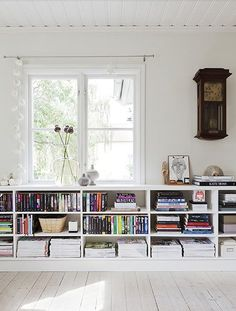 Rosa Beltran Design: THINKING ABOUT LOW BOOKSHELVES