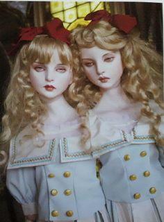 Koitsukihime Doll  / 旋律の絆 (2006) Illuminael head sculpt.