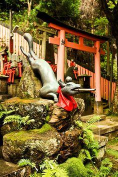 Fox Fountain, Fushimi-Inari Taisha | por cliff.hellis Nara Japan