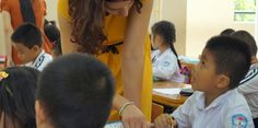 """""""I felt so happy and grateful about the time I spent with the children."""" #UBELONGVietnam #VolunteerReviews"""