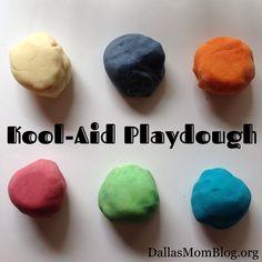 Kool-Aid Playdough I Dallas Moms Blog