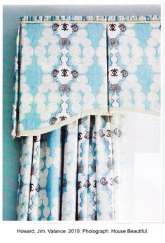 simple valance with