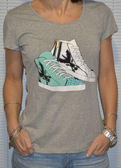 Echa un vistazo a este producto en Yodetiendas.com:  Camiseta zapatillas