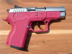 Pink Glock.  Cant wait to shoot this at the Firing Line. :)