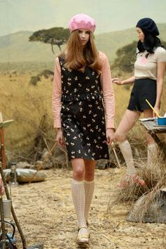 A Wes Anderson-Inspired Collection We're Crushing Over Hard #refinery29 http://www.refinery29.com/orla-kiely#slide-23