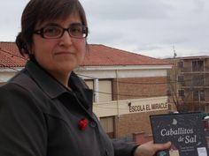 """Presentación """"Caballitos de sal"""" en la Escuela El Miracle, de Tarragona (28-3-2014)"""