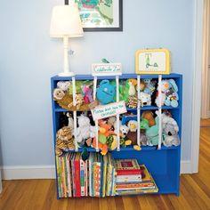 That's a good idea! 50 Homemade Gifts for Kids stuffed animal storage Kids Storage, Toy Storage, Craft Storage, Storage Ideas, Creative Storage, Kitchen Storage, Storage Solutions, Storing Stuffed Animals, Stuffed Animal Storage
