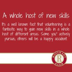 new skills in volunteering Rotaract Rotary  OLD VERSION, NEW VERSION AVAILABLE WITH NEW LOGO