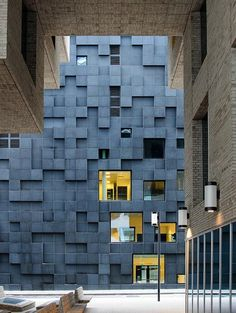Nothing concludes this piece better than a controversial architectural project acting as a façade for an entire city: the Barcode Project in Oslo, Norway. (This beautiful image of the Building C from the DnB Complex as seen through Building A was taken by Hakon Vestli.)
