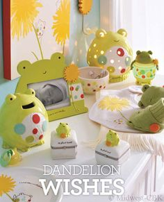 Dandelion Wishes for baby and toddler by Midwest-CBK