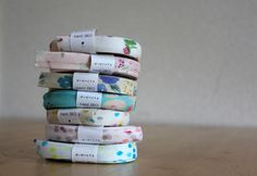 Nani Iro Japanese Double Gauze Bias Tape Little by MissMatatabi