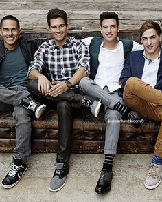 I will always have a part of my fangirl heart for these guys :} no shameeee haha ok a little
