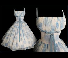Vintage 1950s Dress // 50s Dress // Lorrie Deb by VintageDiva60