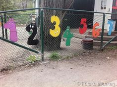 Number recognition outdoors