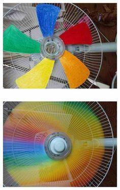 Ventilador Arco Íris - Aprenda Fazer em:  http://receitaartesanato.com.br/ventilador-arco-iris-aprenda-fazer/