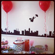 Mary Poppins Themed Party